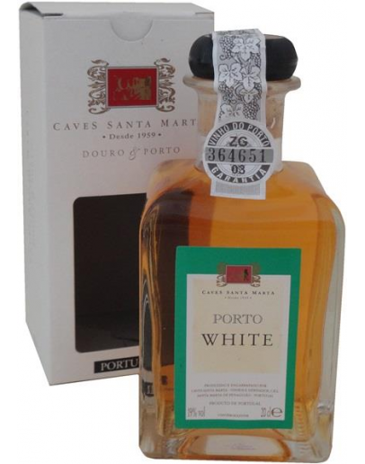 CAVES SANTA MARTA - PORTO WHITE BOTTLES SMALL - DOURO NV 20cl White Port